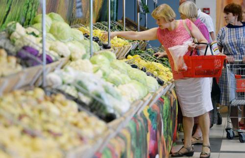 Недельная инфляция в России снова составила 0,1%