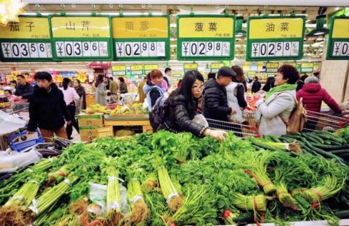 Продовольственная инфляция в Китае достигла 7,6%