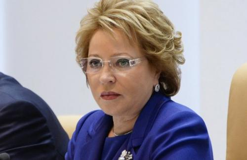 Матвиенко отметила смену настроения в ЕС в вопросе санкций против РФ