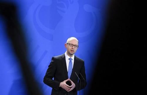 Яценюк назвал условия транзита российского газа в Европу
