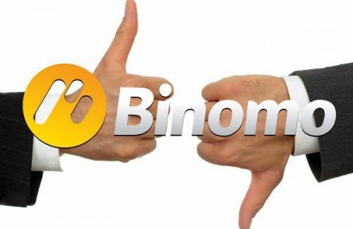 Особенности работы с брокером Binomo
