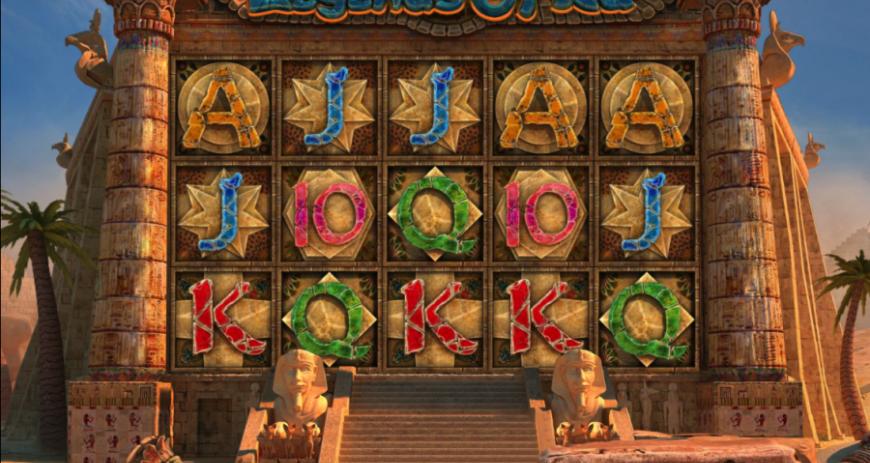 Графическое оформление автомата Legend of Ra в казино АдмиралХХХ