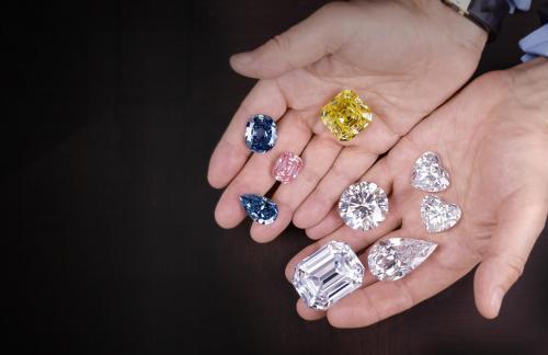 Выбираем бриллианты для ювелирных украшений