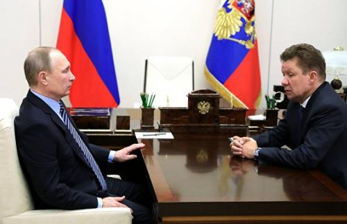 Миллер рассказал о доле «Газпрома» на европейском газовом рынке