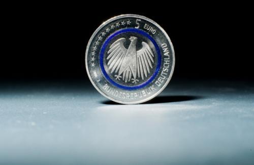 Германия впервые выпустила монету номиналом €5