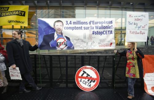 Бельгия может сорвать торговую сделку ЕС и Канады