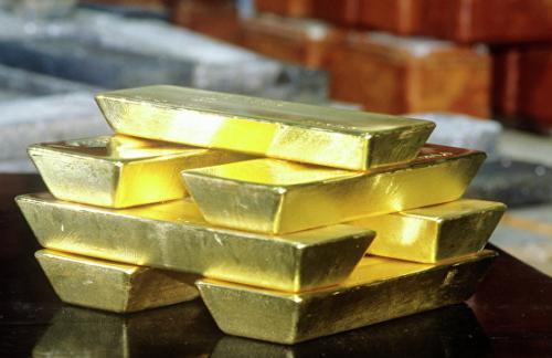 Запасы золота в резервах России за январь выросли на 2%
