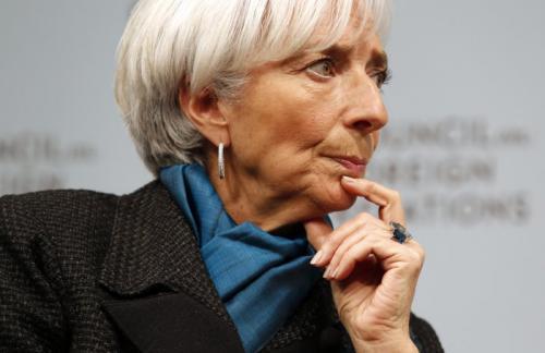 Лагард предупредила о значительных рисках для мировой экономики