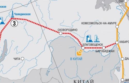 Китай подтверждает запуск «Силы Сибири» по графику
