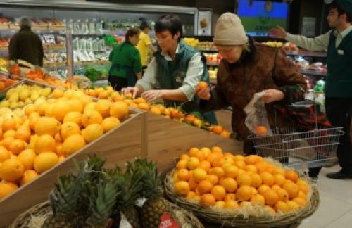 Недельная инфляция в РФ сохранилась на уровне 0,2%