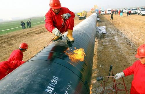 Китай начал строить трубопровод навстречу «Силе Сибири»