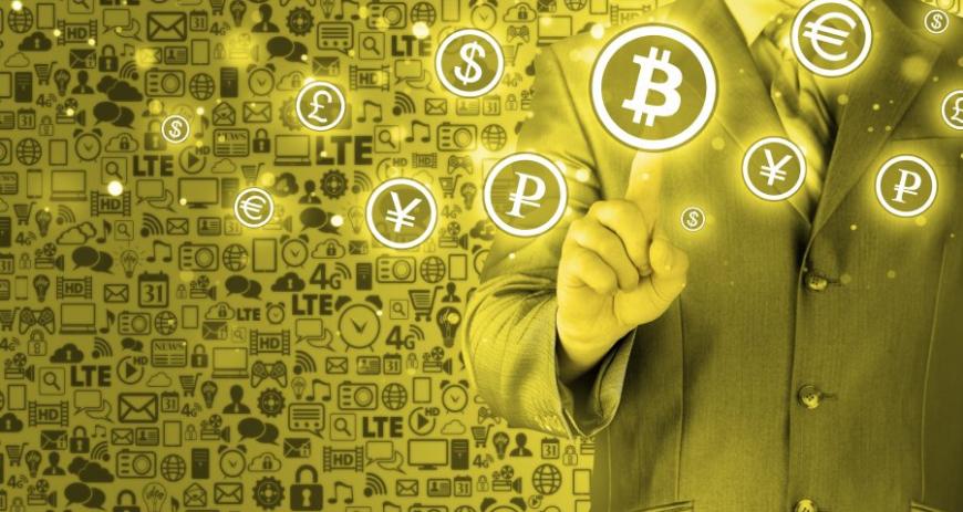 Обмен криптовалют растет геометрически